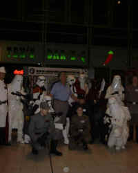 David Prowse (Darth Vader) and all Imperials.